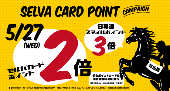 SELVA CARD POINT CAMPAIGN