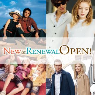 NEW&RENEWAL OPEN!