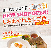 New Shop Open!『しあわせはたまご色。』
