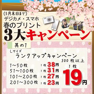 5F 写真屋さん45デジタルコンビニ 『プリントランクアップキャンペーン』