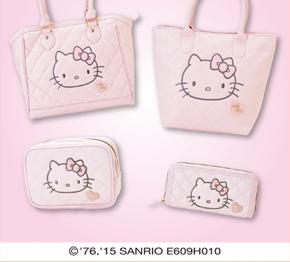 4F サンリオギフトゲート「ハローキティ 大人かわいいピンクシリーズ 発売」