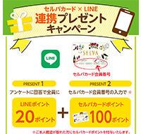 セルバ ✕ LINE 『連携プレゼントキャンペーン』