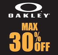 メガネスーパー『OAKLEYブランドセール MAX30%OFF!』